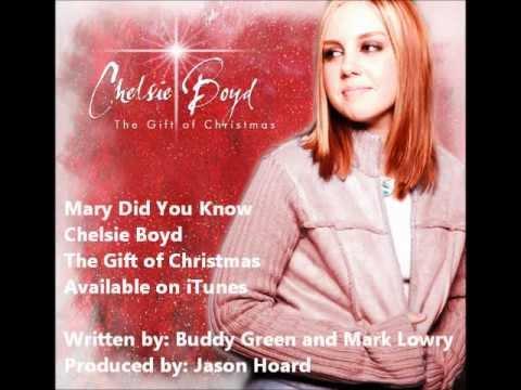 Mary Did You Know (with Lyrics) - Chelsie Boyd - YouTube