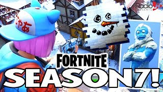 NEW FORTNITE SEASON 7! Battle Pass, Christmas Theme, Skins & Planes!