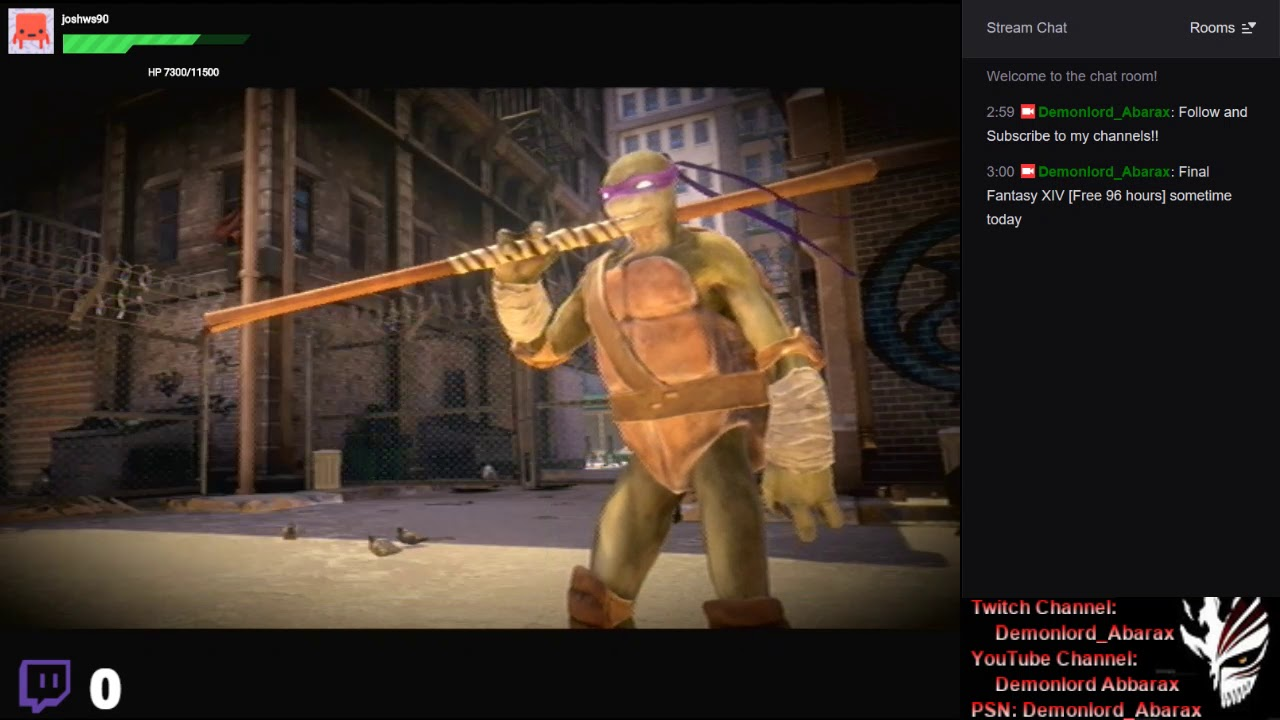 [PS3] Teenage Mutant Ninja Turtles: Out of the Shadows {Survival & Arcade Mode #6} -RLNS