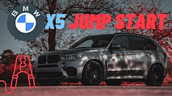 ▶️How to Jump Start a 2007 2008 2009 2010 2011 2012 BMW X5 ▶️w/ Helpful  Tips