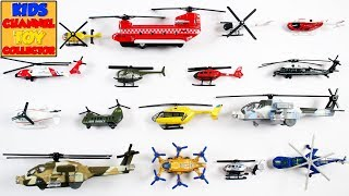 Helicopters For Kids Children Babies Toddlers  Army Helicopter Police Helicopter  Kids Learning