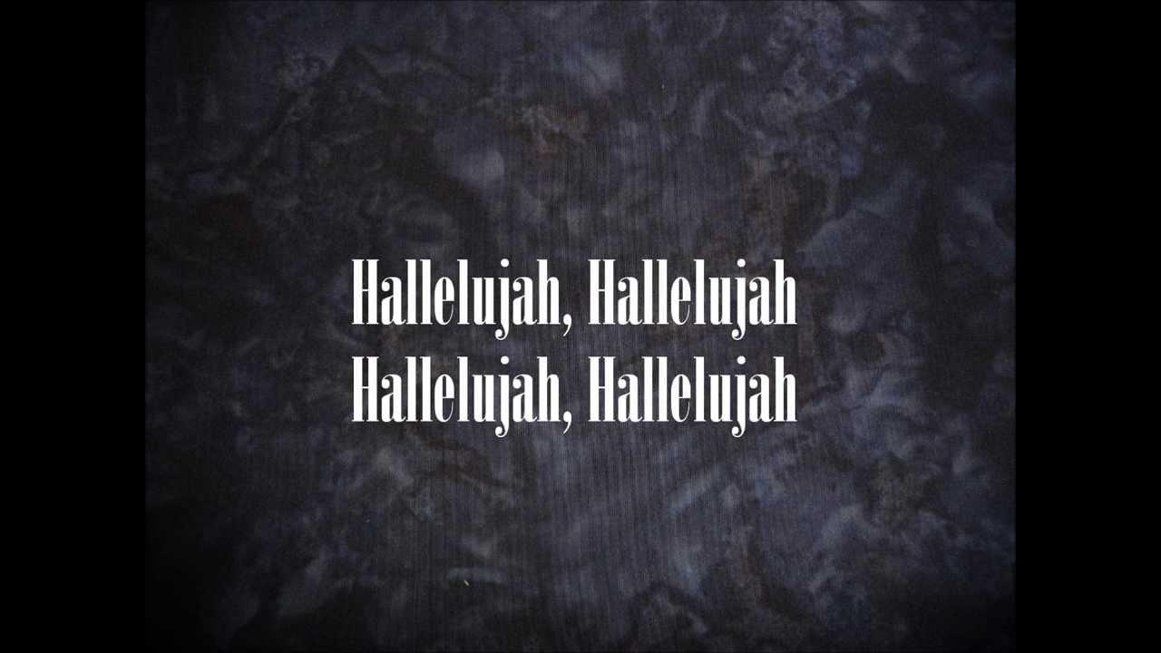 Hallelujah ~ The Canadian Tenors (Lyrics) - YouTube Hallelujah