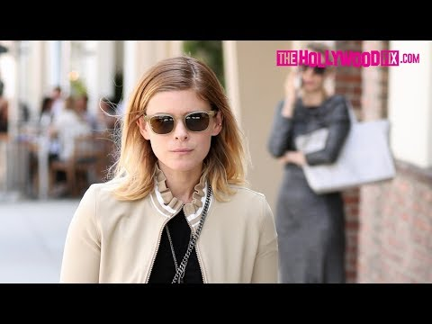 Kate Mara Has Lunch With Friends At Gratitude In Beverly Hills 8.21.17 - TheHollywoodFix.com