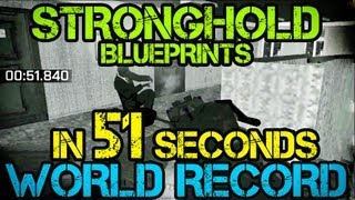 Dayz Origins Stronghold Blueprint In 51 Seconds - World Record!