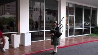 Bag Piper Call to Muster