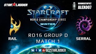 2019 WCS Winter EU - Ro16 Group D Match 1: Serral (Z) vs Rail (P)