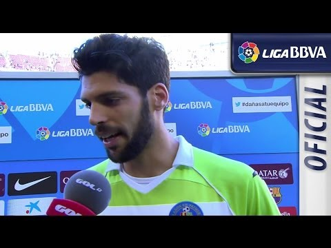 Interview Lafita after FC Barcelona (2-2) Getafe CF - HD