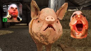 Mr Meat 1.5 - NEW Update - New Pet (Pig) New puzzles & Exterior Zone (IOS ANDROID)