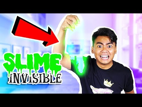 Thumbnail: How To Make INVISIBLE SLIME! (No Borax)