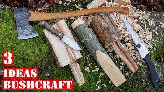 3 Proyectos De Bushcraft Fáciles Que Hacer En El Bosque