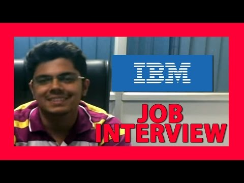 How To Crack Campus Interview- IBM Job Interview