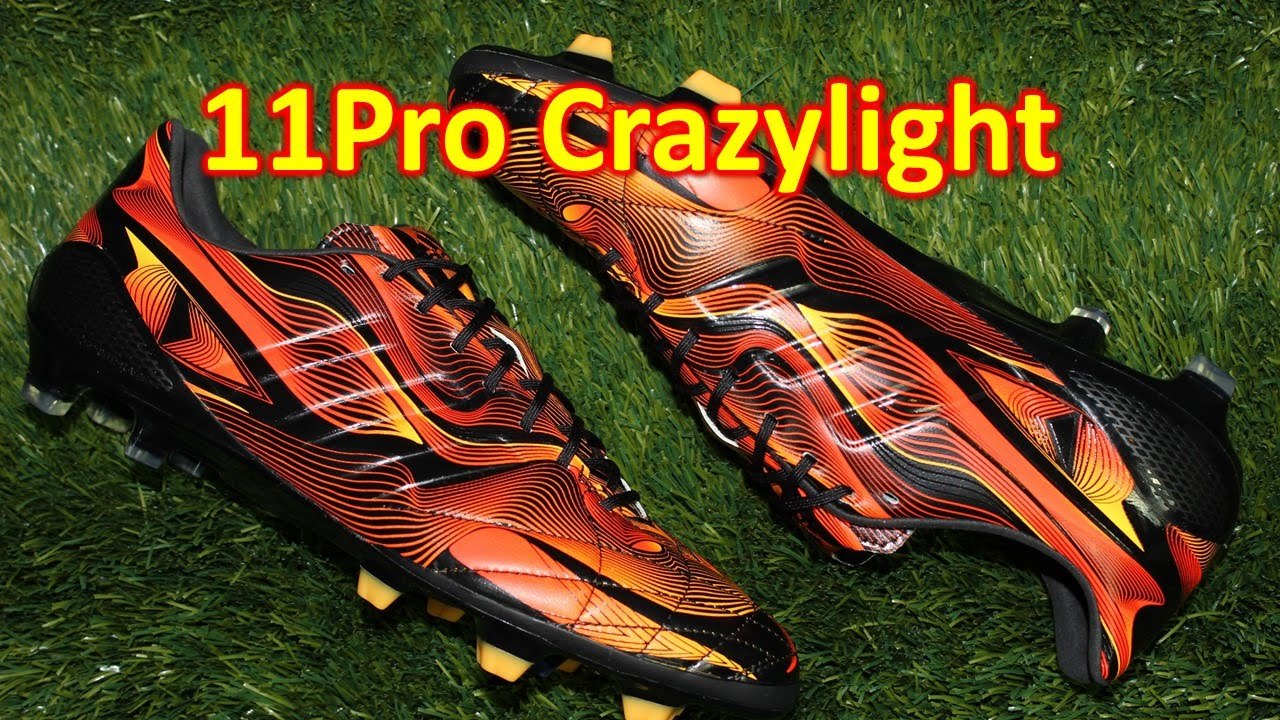 Adidas 11Pro crazylight unboxing   sobre pies YouTube