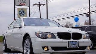 2008 BMW 7 Series 750Li LWB Long Wheel Base Sedan