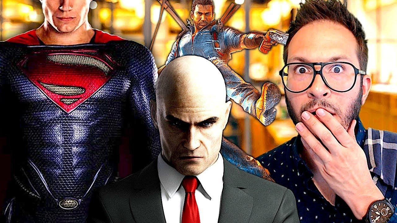 Superman en fuite, Just Cause 4 leaké, Hitman 2 de retour, Generation Zero et JJ Abrams