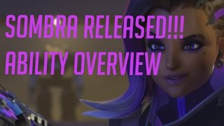 Overwatch Official Sombra Released, Ability Overview