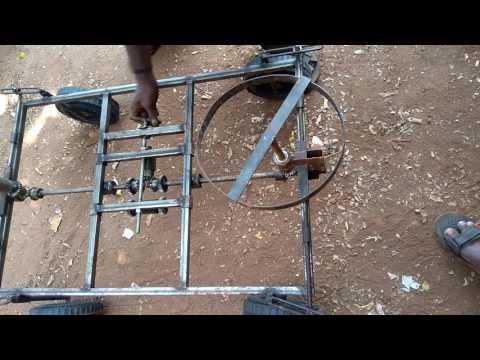 Three mode steering mechanism for 4 wheelerd