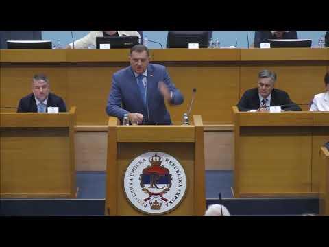 Milorad Dodik o Drasku Stanivukovicu - Teske prozivke i uvrede  (BN Televizija 2019) HD