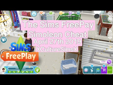 The Sims FreePlay - Money Cheat IOS/ANDROID (NO Jailbreak Or Computer) April 27th 2019