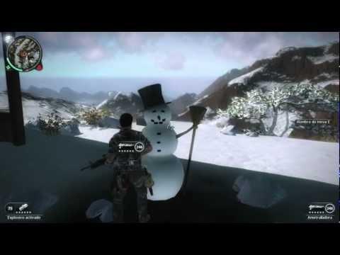 Loquendo Misterios Just Cause 2 Snowman