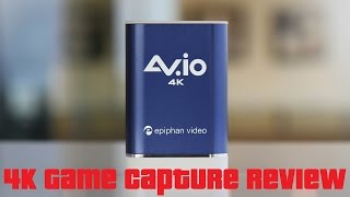 AV.io 4K Capture Review For PS4 Pro & Xbox One S