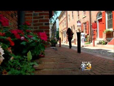 Several Homes Along Philadelphia's Historic Elfreth's Alley On The Market