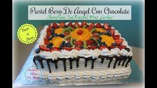 Pastel Beso De Angel De Chocolate Exquisito 😋😍🤤
