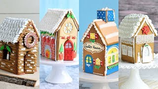 AMAZING GINGERBREAD HOUSES for CHRISTMAS by HANIELA