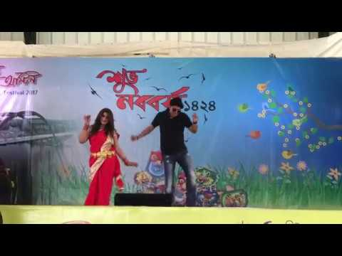 Tuntuni !! Saree Te Beautiful Featuring Shohel & Sylvia Taufique !! BAGA Pohela Boishakh 1424 HD !!