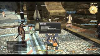 Final Fantasy 14: Leveling DoH's to 30