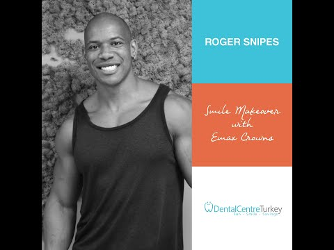 Roger Snipes visited the VIP clinic in Antalya | Dental Centre Turkey