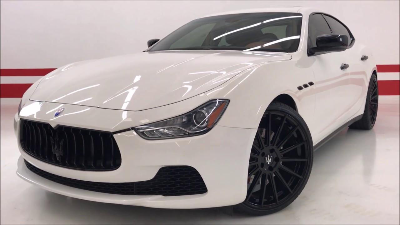 "Maserati Ghibli S Q4 >> 2016 Maserati Ghibli S Q4 CUSTOM ($93K MSRP) 22"" / CUSTOM ..."