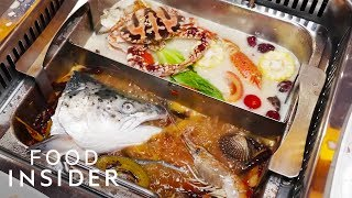 Catch Your Own Seafood For Hotpot In Singapore