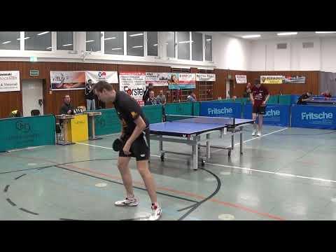 Gumann vs bluhm modern defense bundesliga 3 table tennis effeltrich vs gruenwettersbach ii 20171014