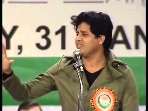 Haa Mai Kashmir hoo  Imran Pratapgarhi Dubai Mushaira 31st  jan 2013