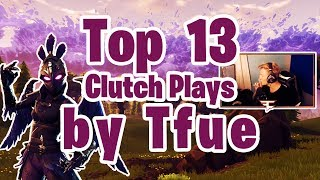 The TOP 13 Craziest Fortnite Battle Royale PLAYS and MOMENTS (TFUE FORTNITE HIGHLIGHTS)