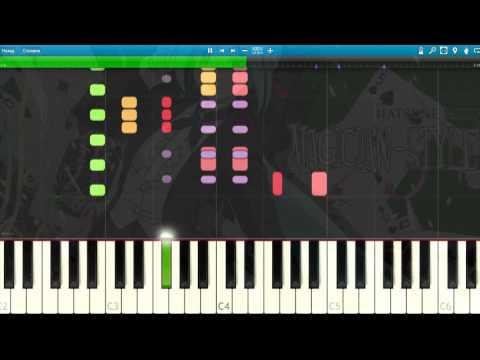 [Hatsune Miku] Joker Piano Synthesia Tutorial