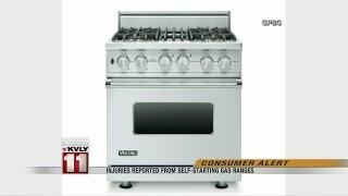 Gas Ranges Recalled Due to Burn Hazard