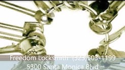 Freedom Locksmith Hollywood, CA (323)503-1199