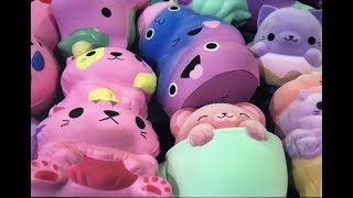 Colorful Squishy Collection Update 2018 (Jumbo) (Fuzzy Squishies???!!!)