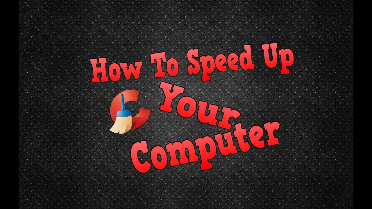 how to make pc more faster