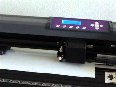 Vinyl Cutting with an MH-871 - This ain't your mother's cricut