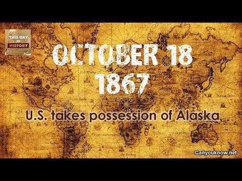 D. K. Smith - October 18, 1867 U.S. takes possession of Alaska
