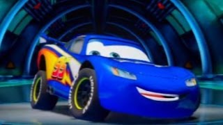 Repeat youtube video CARS ALIVE! Cars 2 Gameplay -Lightyear Lightning Battle Race on Casino Sprint