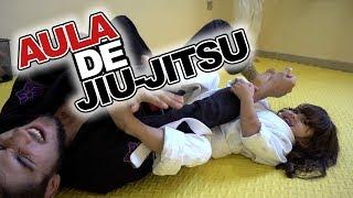 Kai e Clara Praticam Esportes e Fazem Aula de Jiu-Jitsu Para Crianças.