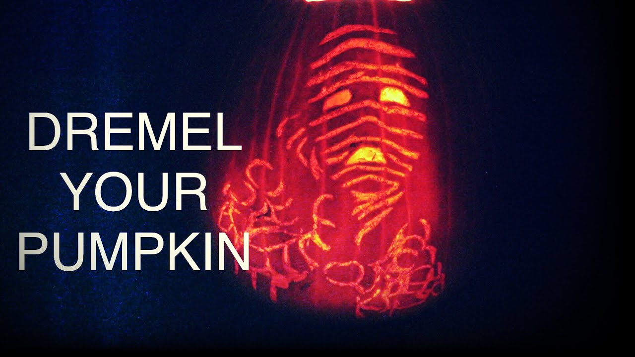 How to carve your pumpkin with a dremel tool youtube how to carve your pumpkin with a dremel tool maxwellsz