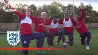 Five-a-side match practice - England U21 | Inside Training