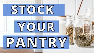 How to Stock Your Vegan Pantry  7 Pantry Staples and How to Use Them!