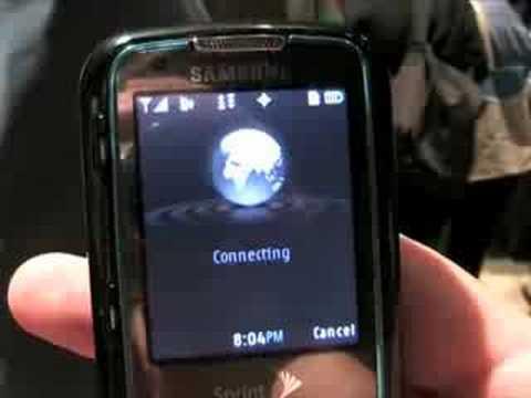 Samsung Rant (Sprint) - Hands-on @ CTIA FAll