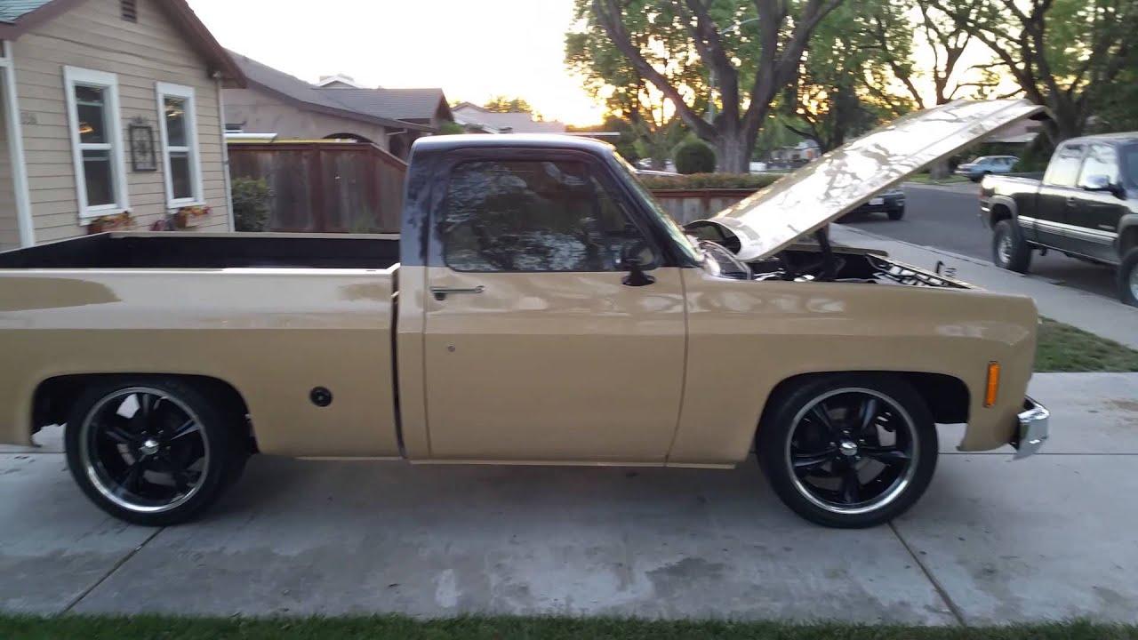 1973 Chevrolet C/10 beautiful 73 - YouTube