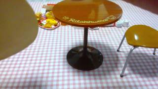 Rilakkuma Re-ment Cafe Table And Chairs